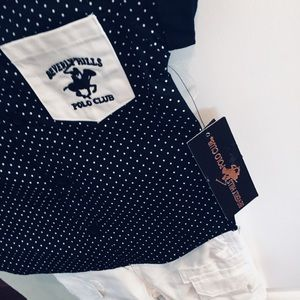 NWT Beverly Hills Polo Club Boys Outfit